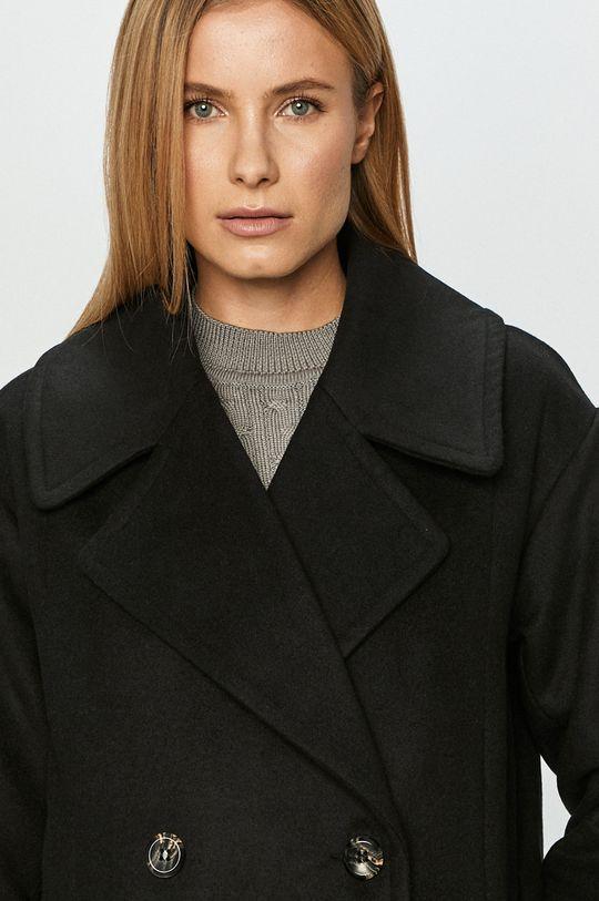 černá Jacqueline de Yong - Kabát