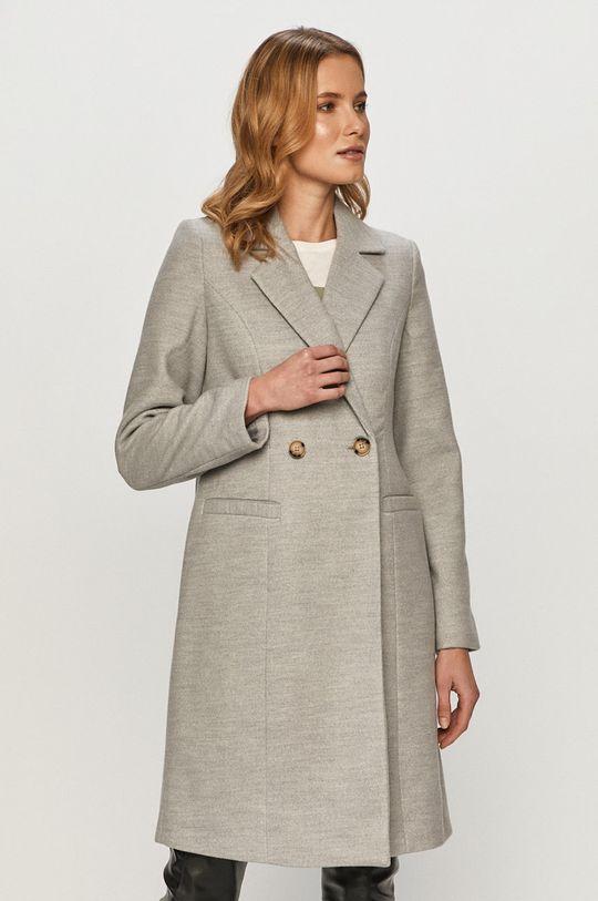 svetlosivá Vero Moda - Kabát Dámsky