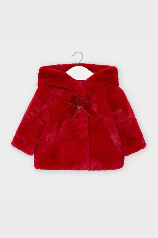 czerwony Mayoral - Płaszcz dziecięcy 74-98 cm Dziewczęcy