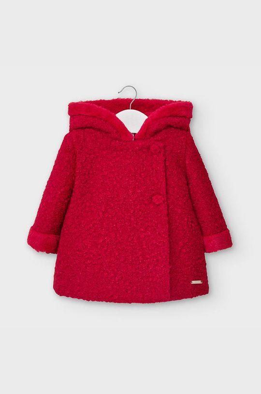 czerwony Mayoral - Płaszcz dziecięcy 68-80 cm Dziewczęcy