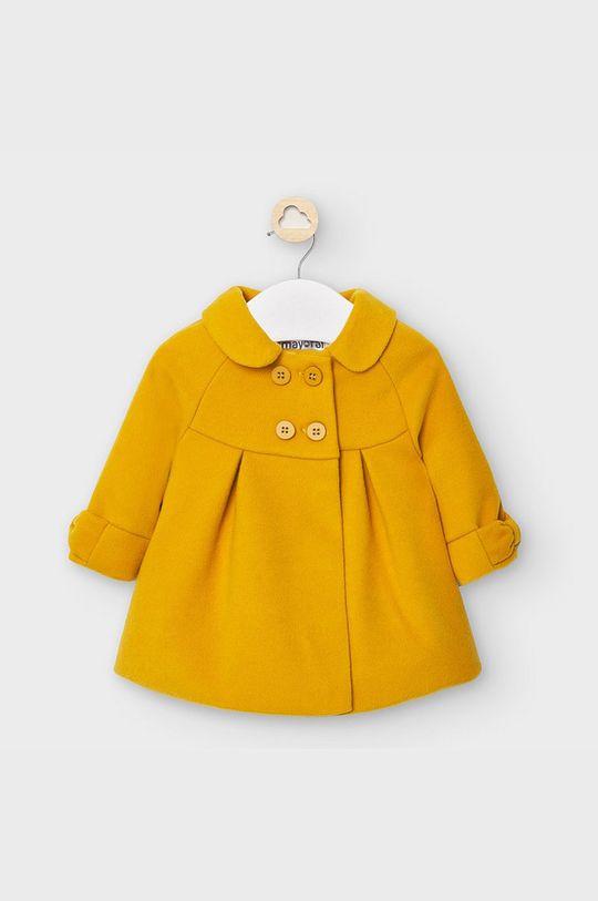 jantárová Mayoral - Detský kabát 65-86 cm Dievčenský