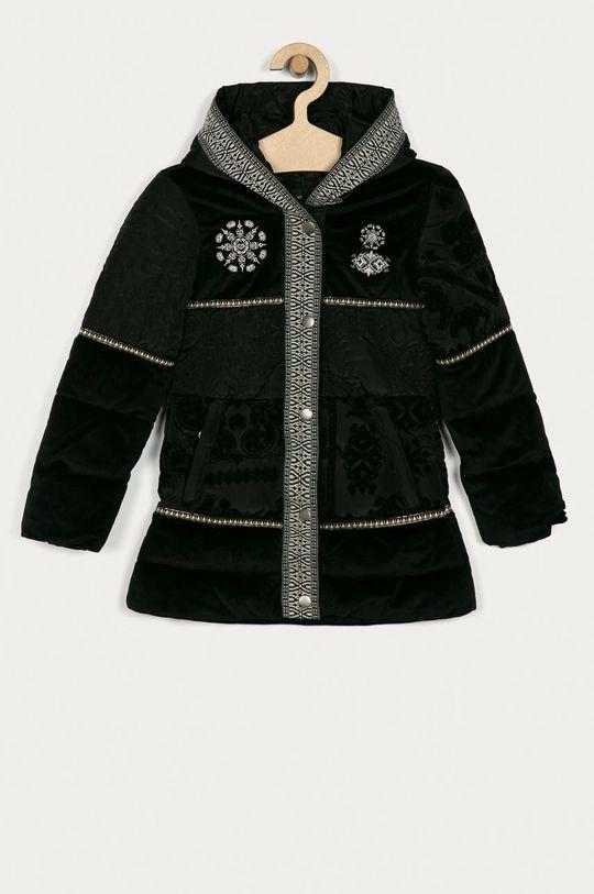 černá Desigual - Dětská bunda 104-164 cm Dívčí