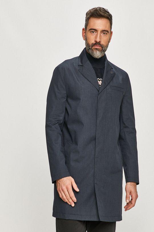 granatowy Calvin Klein - Płaszcz Męski