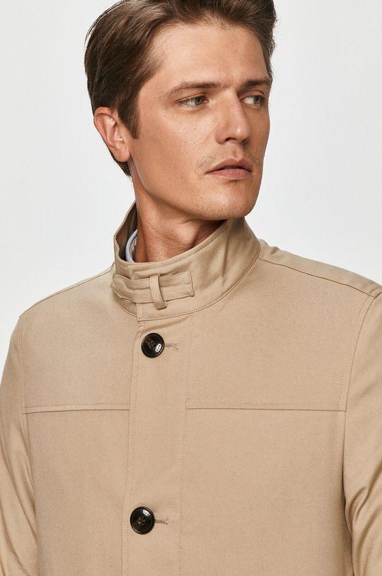 beżowy Tommy Hilfiger Tailored - Płaszcz