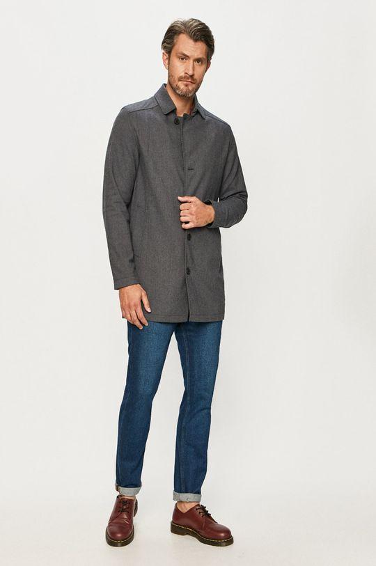 Selected - Пальто світло-блакитний