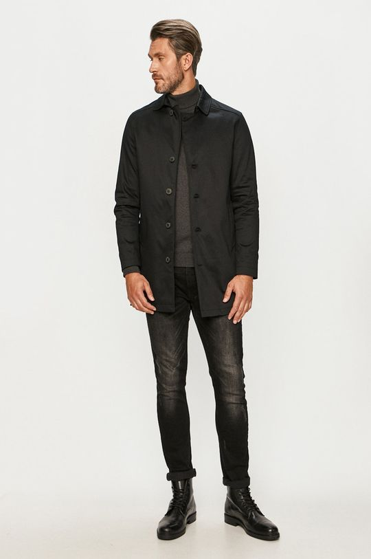 Selected - Пальто чорний