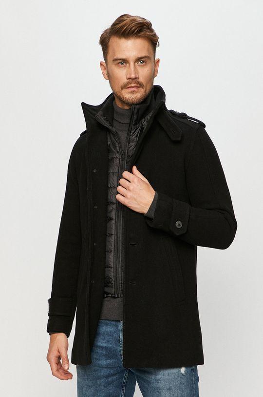 negru Selected - Palton De bărbați
