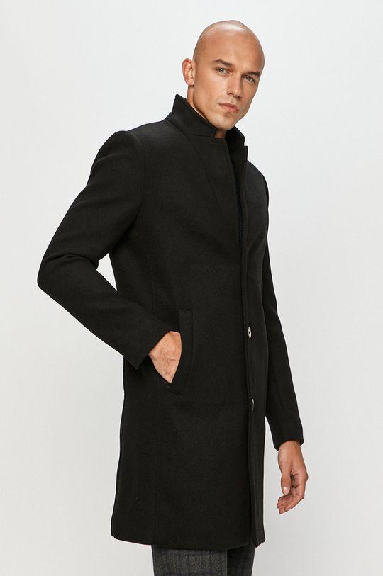 čierna Tom Tailor Denim - Kabát Pánsky