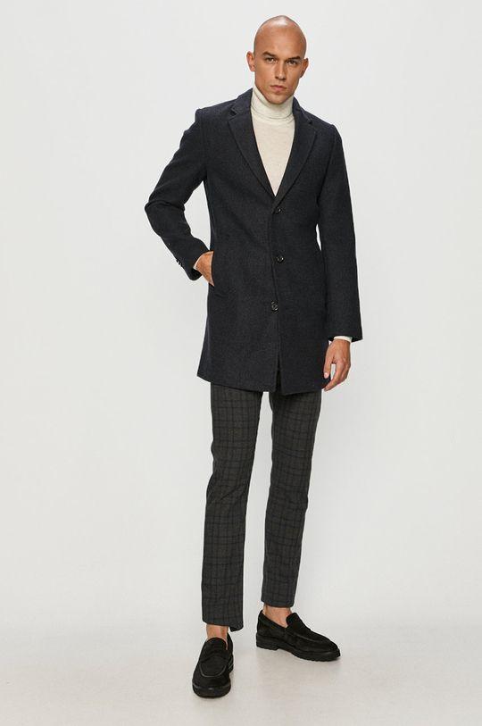Tom Tailor Denim - Kabát námořnická modř