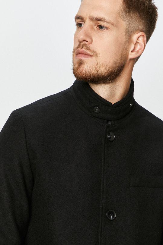 czarny Premium by Jack&Jones - Płaszcz