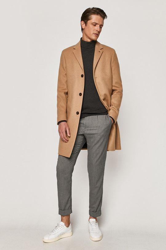 Calvin Klein - Płaszcz beżowy