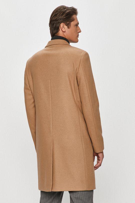 Calvin Klein - Płaszcz Podszewka: 57 % Poliester, 43 % Wiskoza, Materiał zasadniczy: 15 % Kaszmir, 85 % Wełna