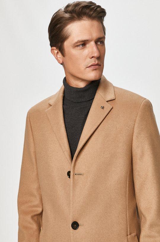 beżowy Calvin Klein - Płaszcz