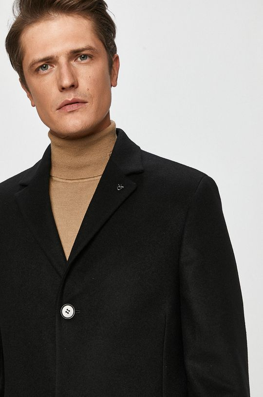 čierna Calvin Klein - Kabát