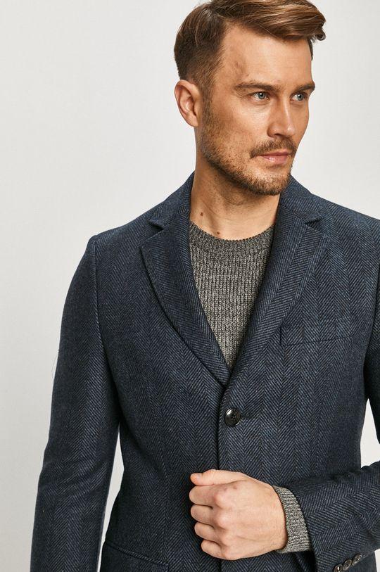 námořnická modř Tommy Hilfiger Tailored - Kabát