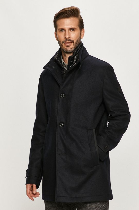 námořnická modř Strellson - Kabát Pánský