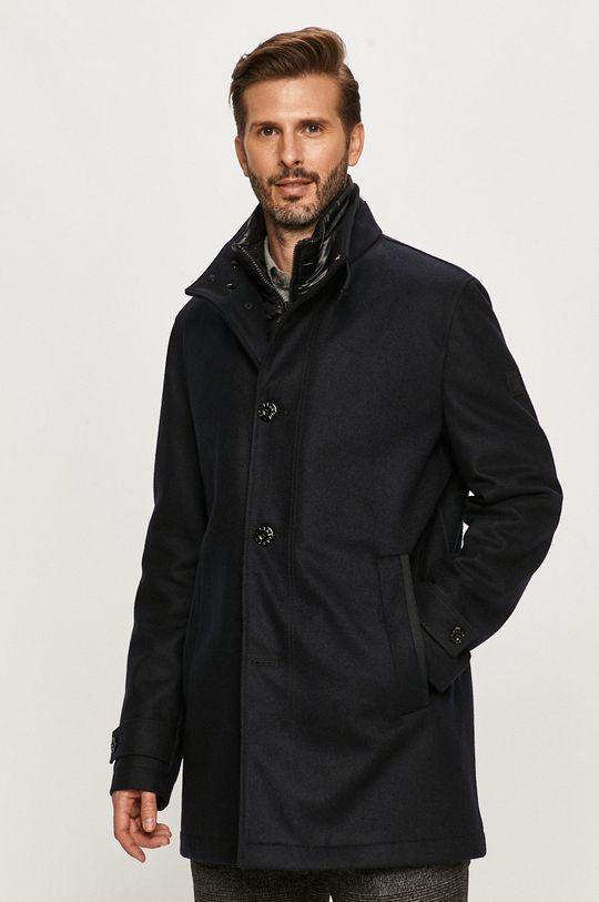 tmavomodrá Strellson - Kabát Pánsky