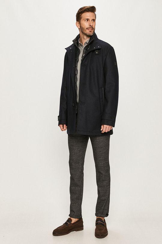 Strellson - Kabát tmavomodrá
