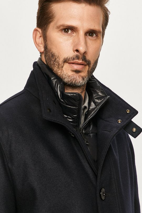 tmavomodrá Strellson - Kabát