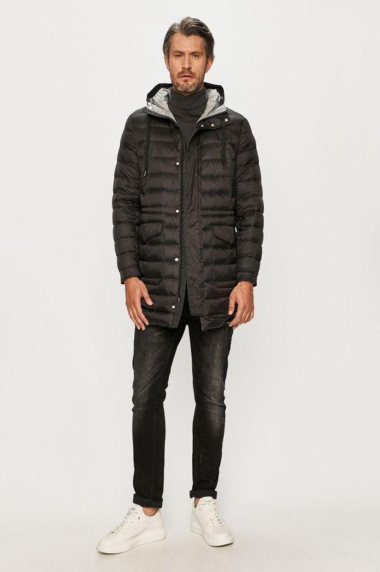Armani Exchange - Páperová bunda čierna
