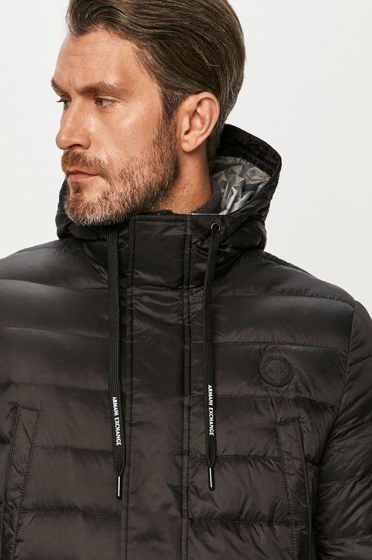 čierna Armani Exchange - Páperová bunda