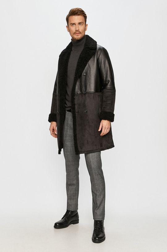 Trussardi Jeans - Kabát černá