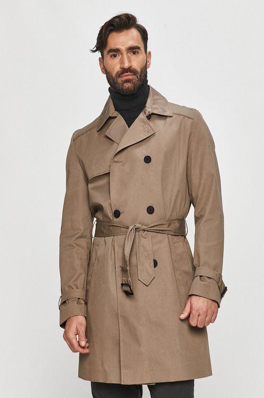 šedá Hugo - Kabát