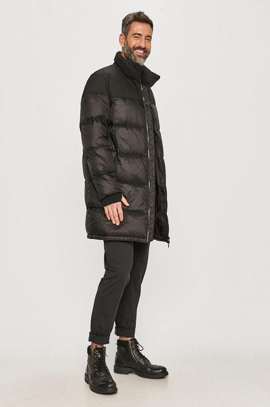 Hugo - Páperová bunda čierna