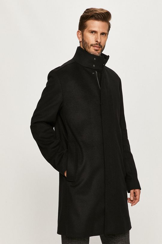 čierna Hugo - Kabát Pánsky