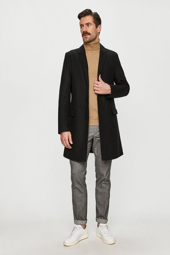 Hugo - Kabát čierna