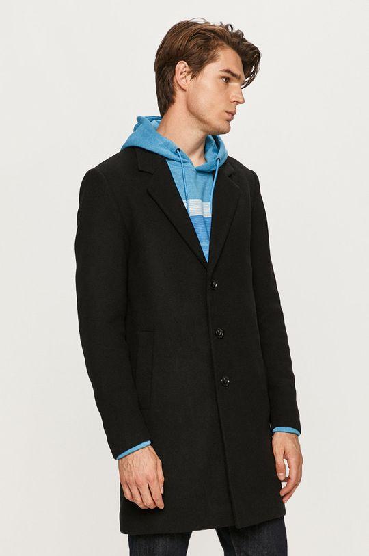 černá Produkt by Jack & Jones - Kabát Pánský