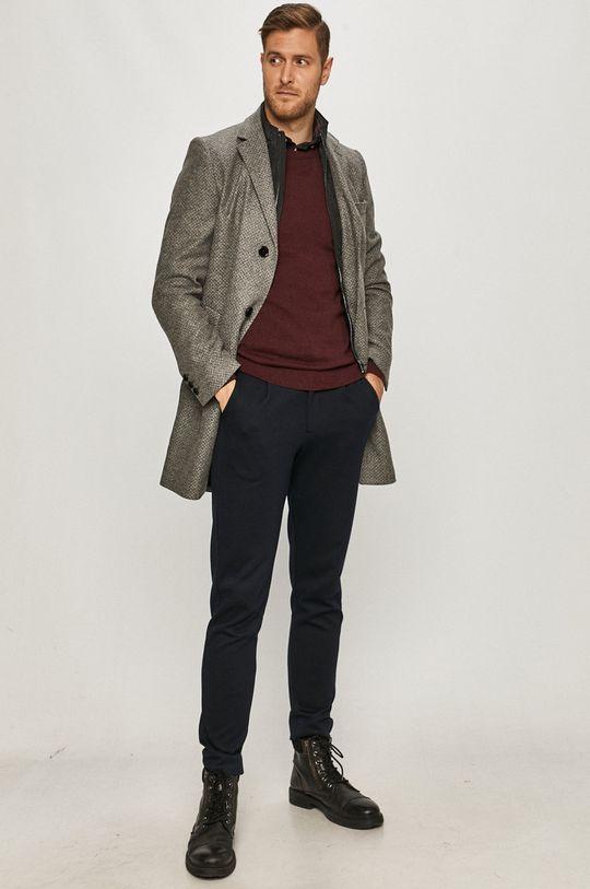 Hugo - Kabát šedá