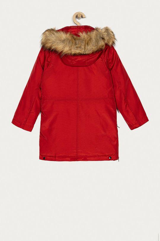 Guess - Dětská péřová bunda 116-15 cm červená
