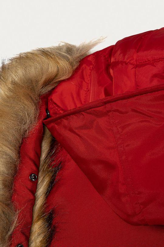 červená Guess - Dětská péřová bunda 116-15 cm