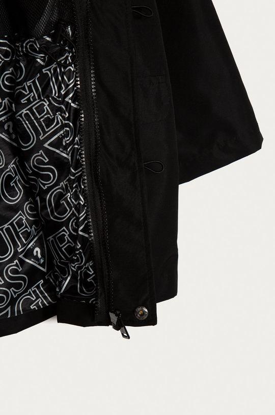 czarny Guess - Kurtka dwustronna dziecięca 116-176 cm
