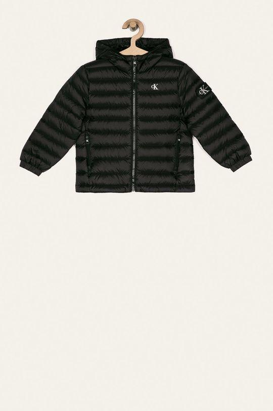 czarny Calvin Klein Jeans - Kurtka puchowa dziecięca 104-176 cm Chłopięcy