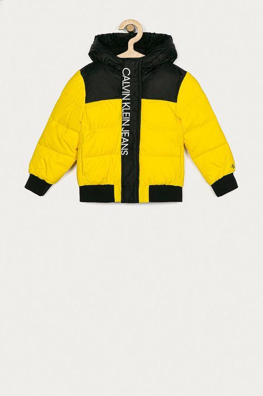 galben Calvin Klein Jeans - Geaca copii 104-176 cm De băieți