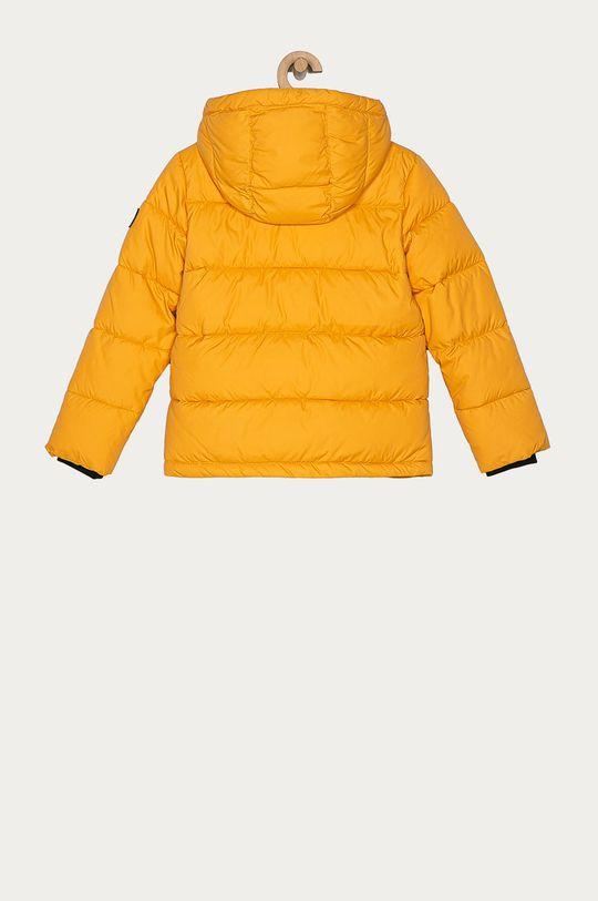 Calvin Klein Jeans - Dětská bunda 104-176 cm hořčicová