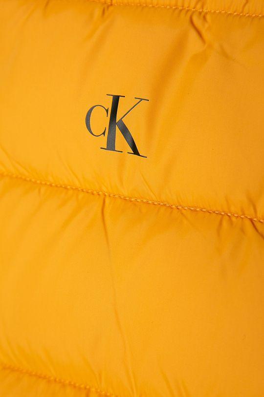 hořčicová Calvin Klein Jeans - Dětská bunda 104-176 cm