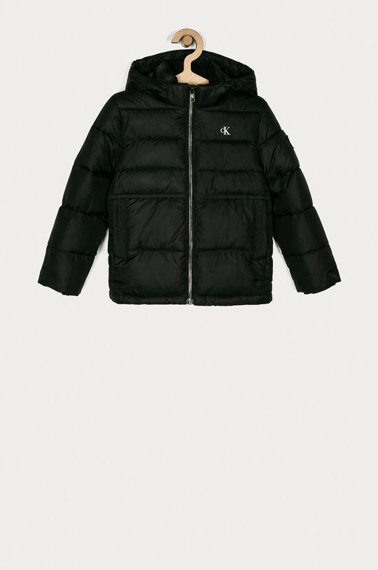 černá Calvin Klein Jeans - Dětská bunda 104-176 cm Chlapecký
