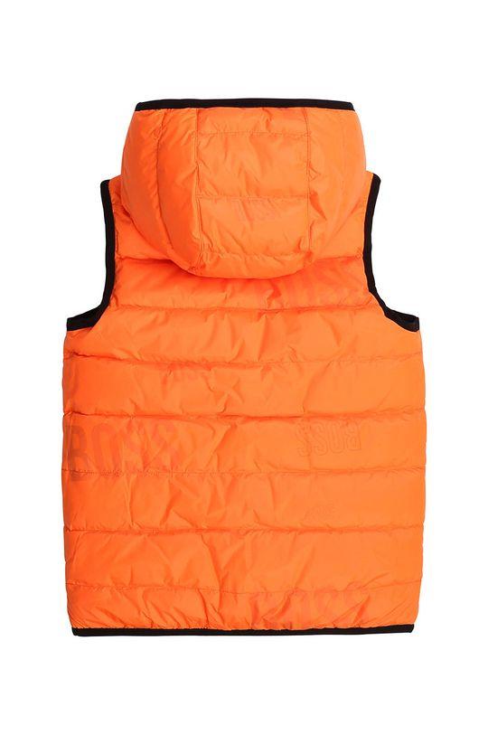 portocaliu Boss - Vesta cu doua fete pentru copii 116-152 cm