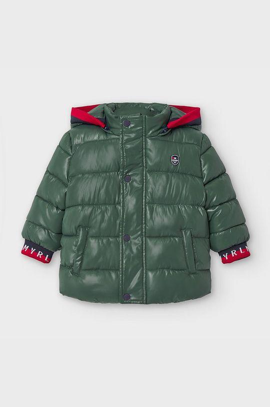tmavě zelená Mayoral - Dětská bunda 74-98 cm Chlapecký