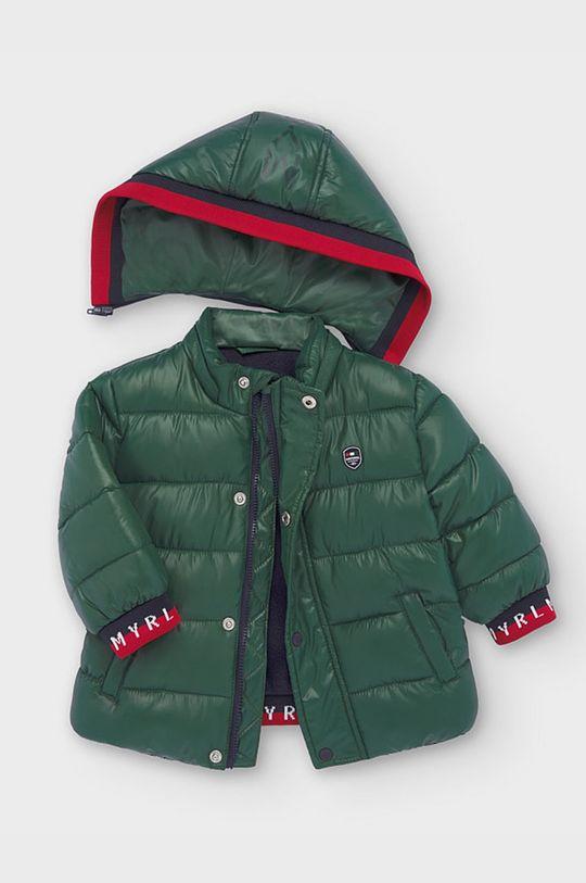 tmavě zelená Mayoral - Dětská bunda 74-98 cm