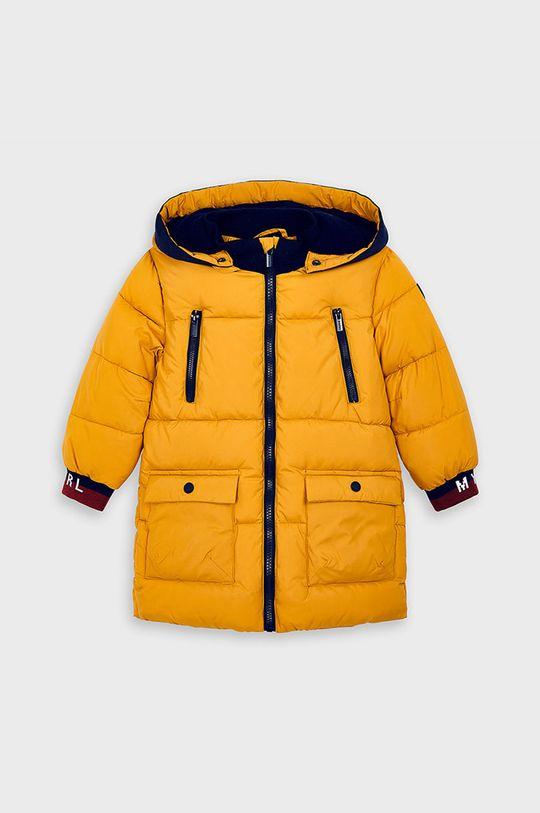 Mayoral - Detská bunda 92-134 cm svetložltá