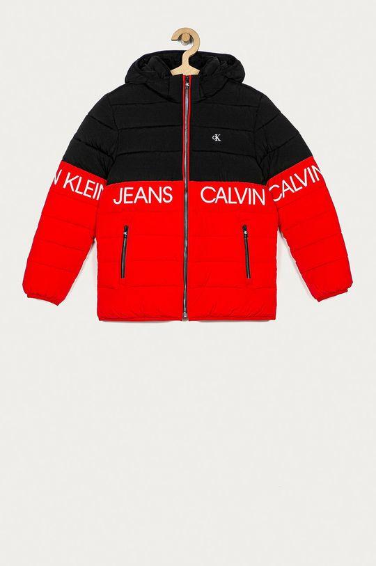 czerwony Calvin Klein Jeans - Kurtka dziecięca 140-176 cm Chłopięcy