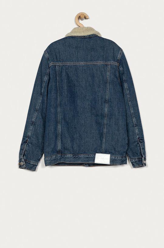 Calvin Klein Jeans - Geaca de blugi pentru copii 152-176 cm albastru