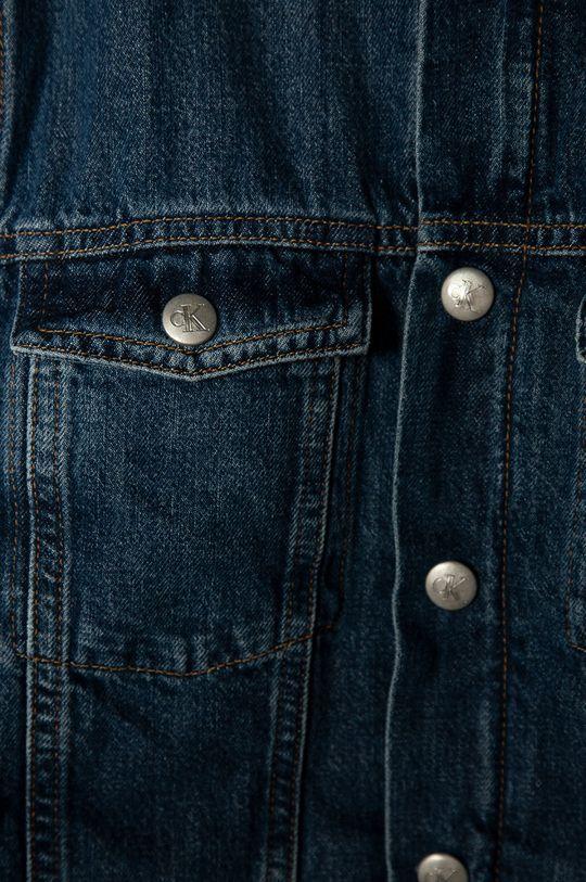 Calvin Klein Jeans - Geaca de blugi pentru copii 152-176 cm  Materialul de baza: 100% Bumbac