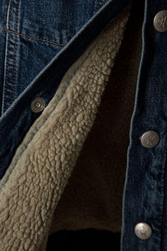 albastru Calvin Klein Jeans - Geaca de blugi pentru copii 152-176 cm