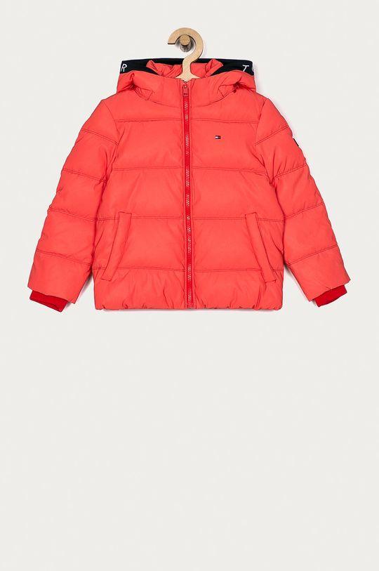 červená Tommy Hilfiger - Dětská bunda 104-176 cm Chlapecký