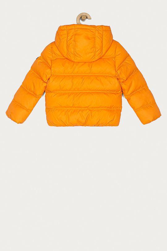 Tommy Hilfiger - Dětská péřová bunda 104-176 cm oranžová